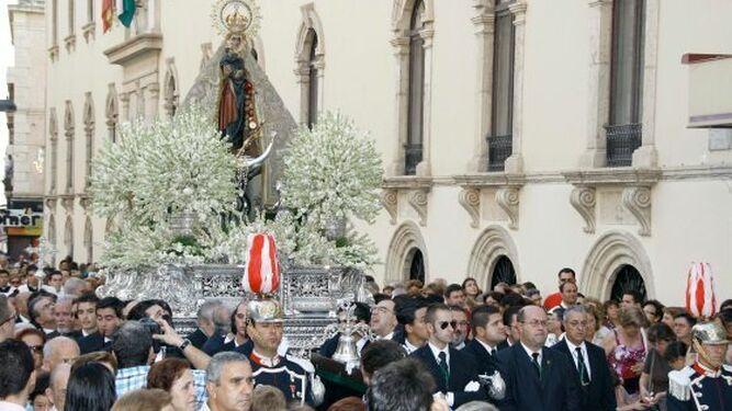 La Patrona de Almería será restaurada en unos meses.