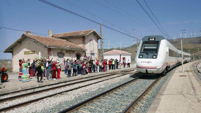 La fiesta anual del kilómetro 197 en Doña Mária