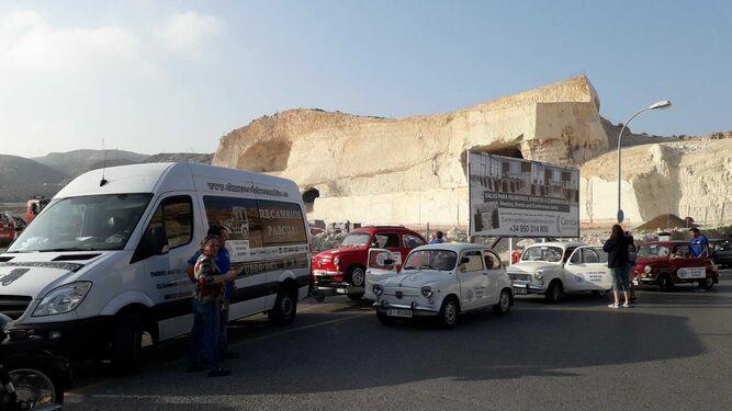 La ruta por todo el país de los seat 600 hace parada en la provincia de Almería.