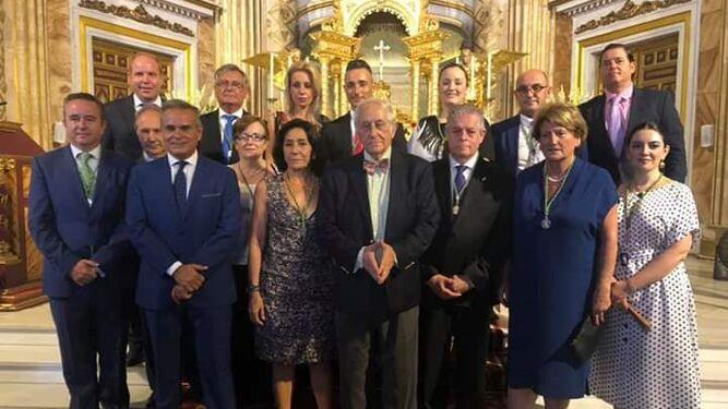 El pregón a la Virgen del Mar de Inocencio Arias abre los actos religiosos del programa de Feria en honor a la Patrona