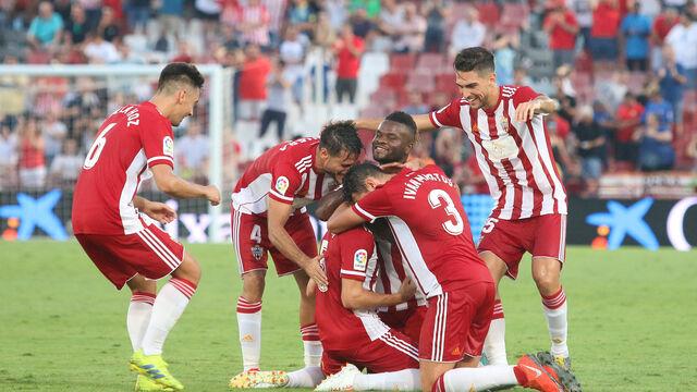 Las imágenes del UD Almería-Albacete (3-0)