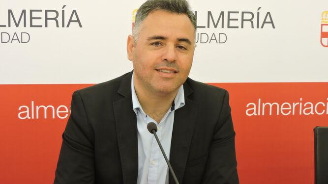 Antonio Ruano, concejal del PSOE