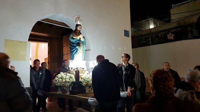 La procesión de la Purísima será mañana.