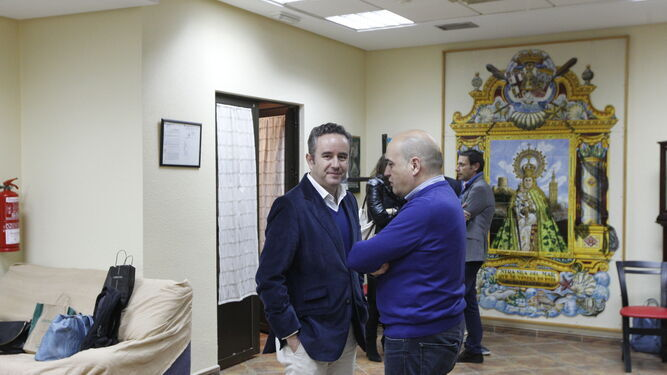 Cabildo de Elecciones a Hermano Mayor en la Virgen del Mar, celebrado hace escasos meses.