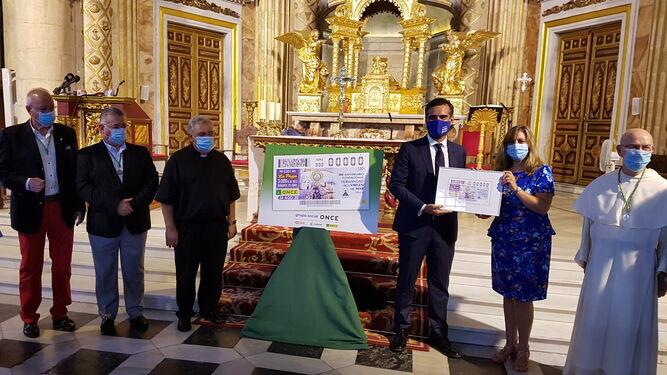 La ONCE rinde homenaje a la patrona de Almería.