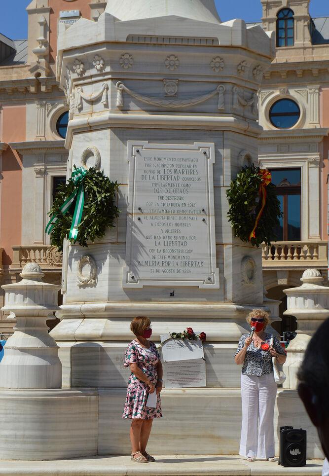 Cinco Asociaciones Realizan El Tradicional Homenaje A Los Coloraos