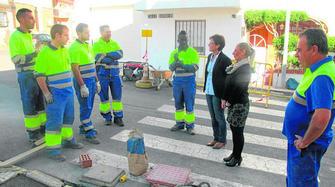 revisión puesto trabajo de mano cerca de Almería